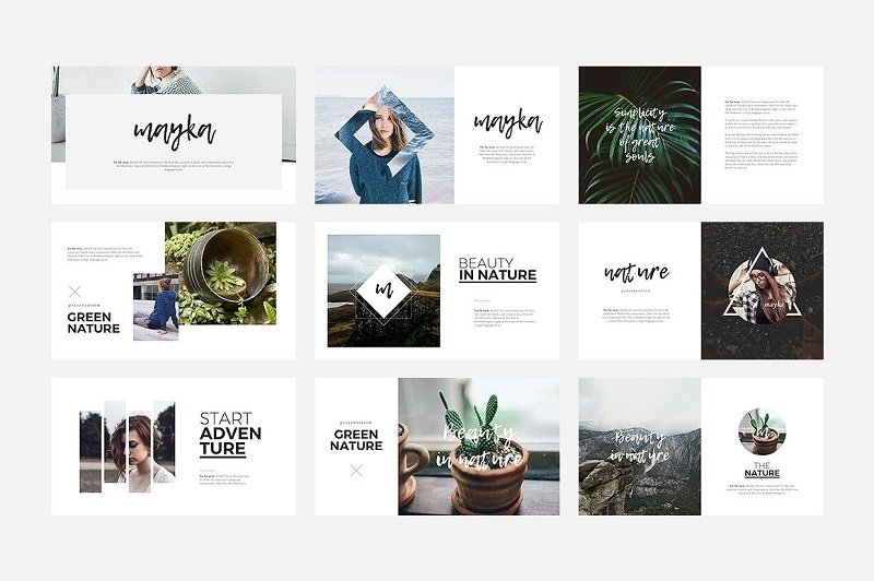 simple clean minimalist keynote templates for amazing