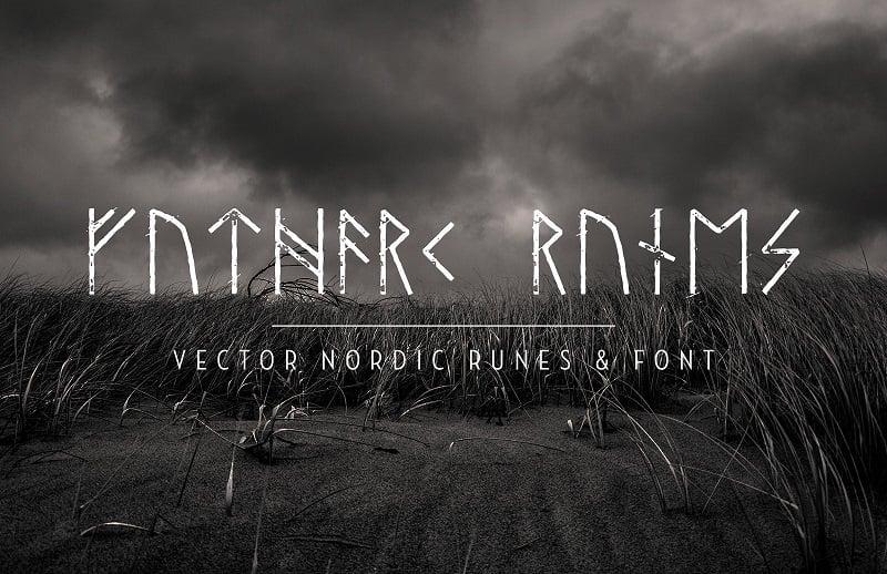 8 Nordic Runes Symbols Fonts and Typefaces — Medialoot