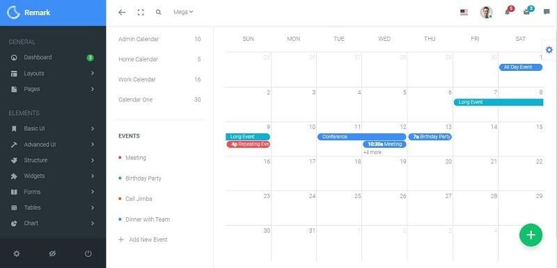16 Bootstrap Calendar Templates To Plug Play Medialoot