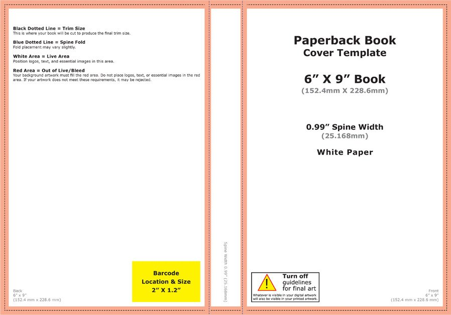 how to design a book cover for print and free template downloads