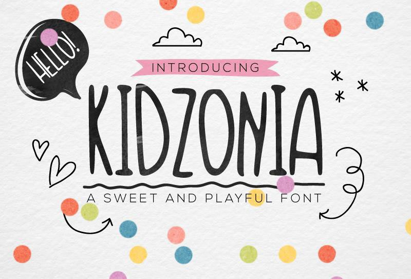 25 Fun and Playful Kid's Fonts — Medialoot