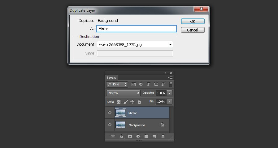 How To Mirror Any Image In Photoshop Medialoot