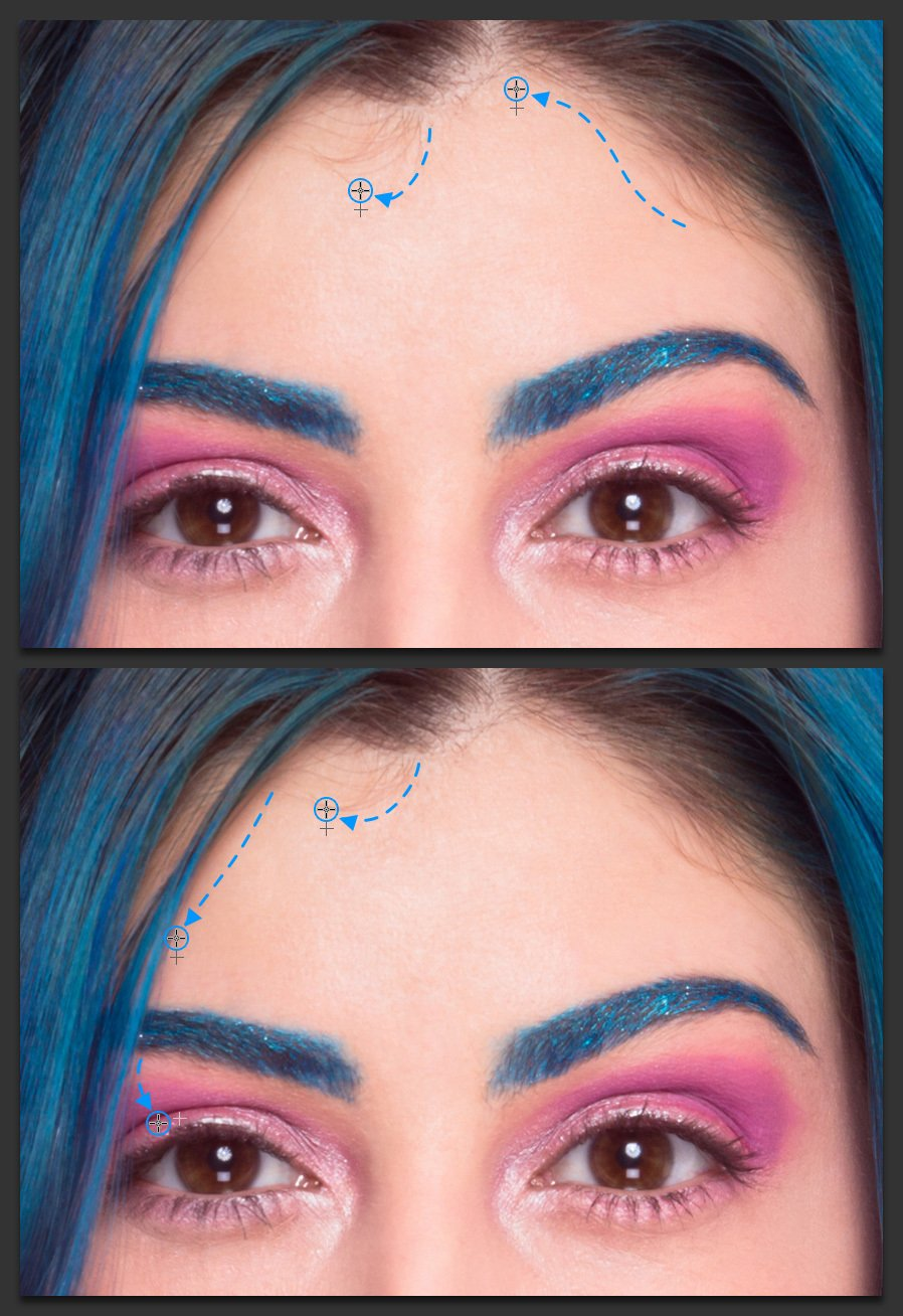 How To Retouch Hair Perfectly In Adobe Photoshop Medialoot