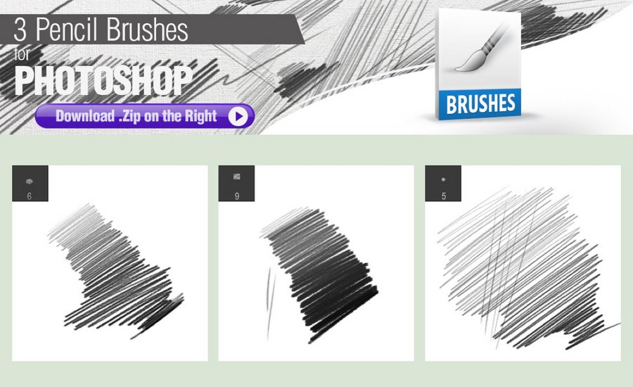 15 Super-Realistic Pencil Brushes for Photoshop CC+ — Medialoot