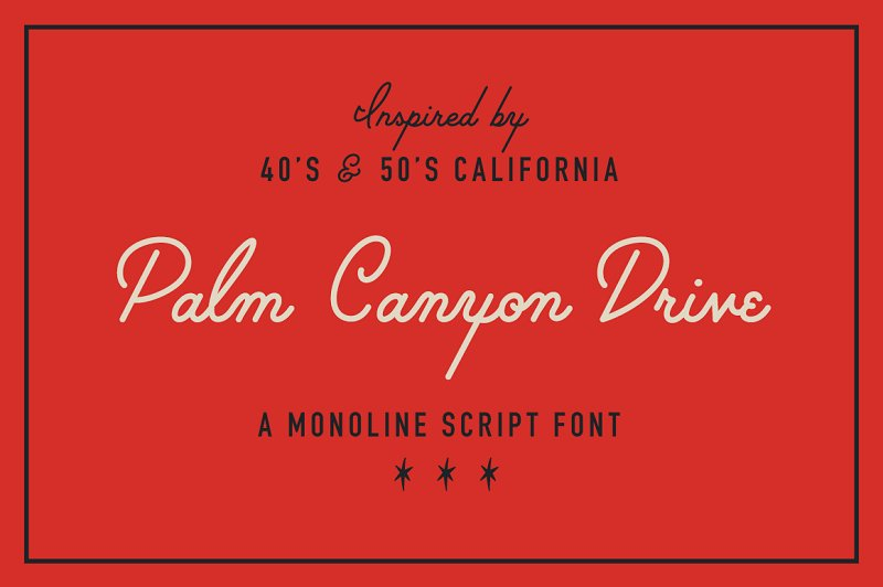21 Retro Script Fonts from the 70s, 80s, and 90s — Medialoot