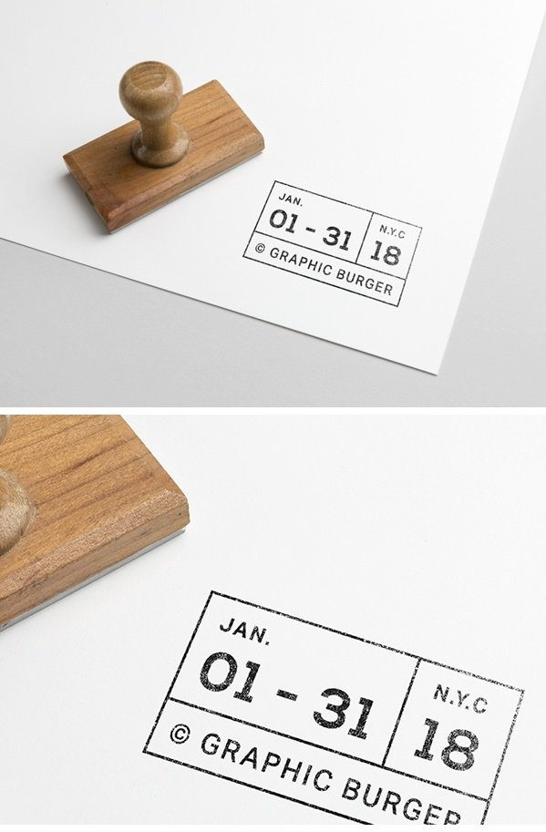 26 Stamp Mockups: Rubber, Ink, and Wax — Medialoot