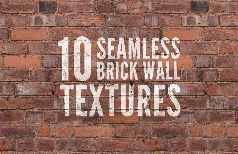 10 Seamless Brick Wall Textures 7