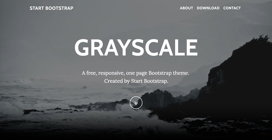 Ultimate One-Page Bootstrap Template Roundup — Medialoot