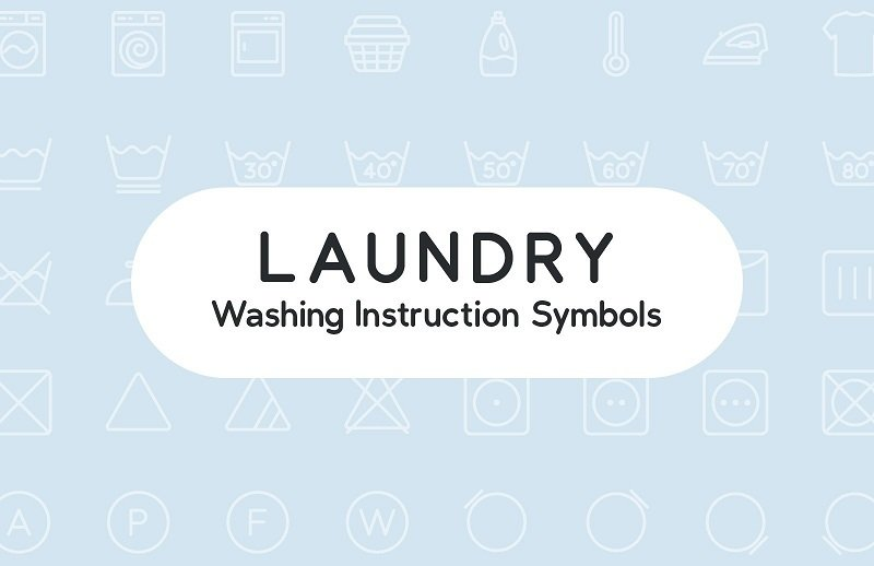 14 Washing Instruction Symbol and Icon Downloads for Manuals