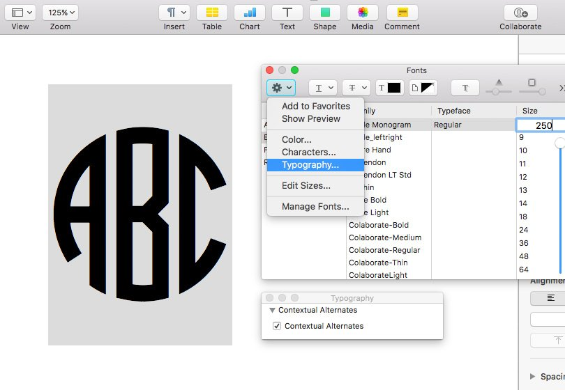 How to enable opentype features in word photoshop and illustrator related posts ccuart Choice Image