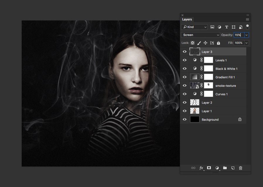 How To Create A Dramatic Portrait Scene With Smoke In Photoshop Medialoot