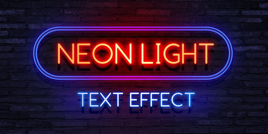 Bonus Free Neon Effect Download