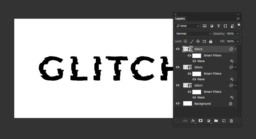 How To Create A Glitch Text Effect With Photoshop Medialoot