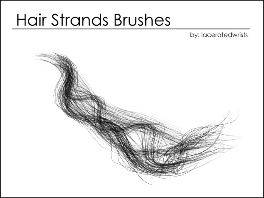 photoshop digital painting hair brushes free download