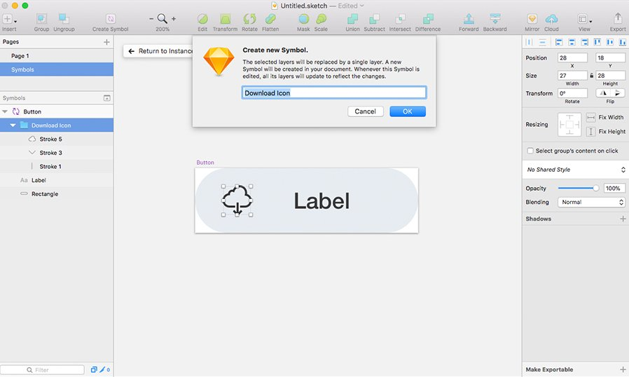 3 Ways To Save Time In Sketch App With Symbols Medialoot