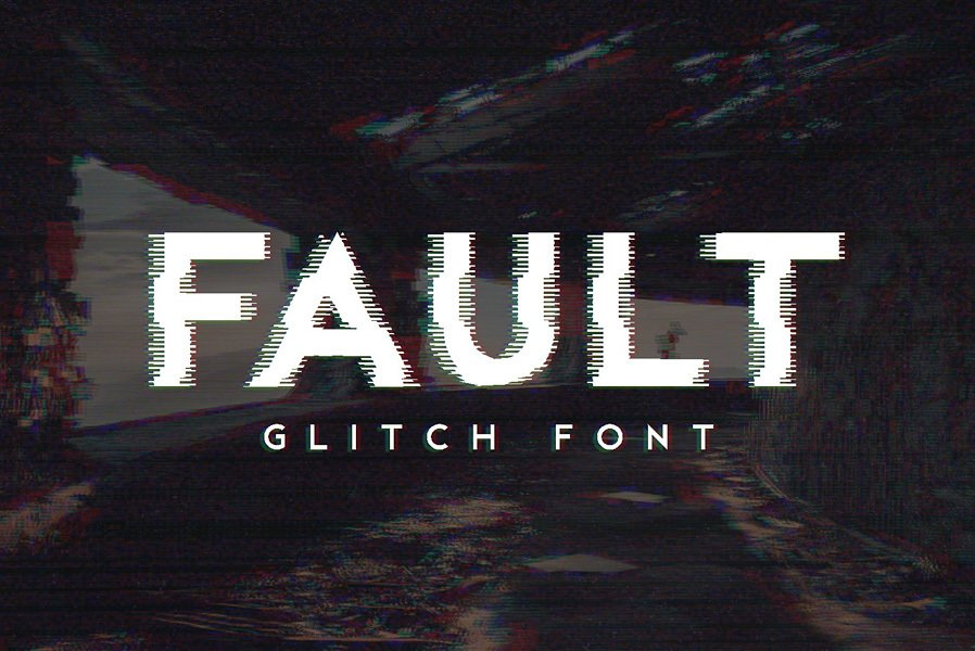 10 Best Glitch Fonts & Effects of 2018 — Medialoot
