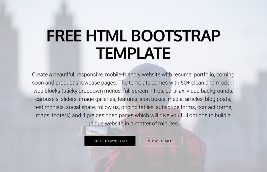 10 Most Promising Free Bootstrap 4 Templates for 2018 — Medialoot