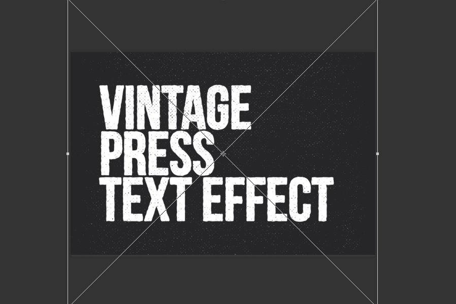 Create a Vintage Press Text Effect in Photoshop — Medialoot