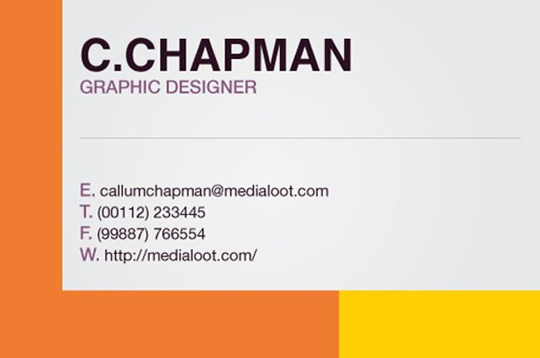 How to create a colorful business card template in illustrator cs4 the outcome cheaphphosting Choice Image