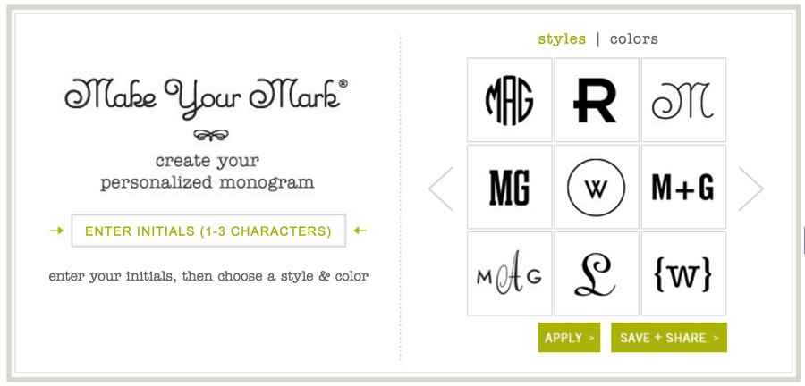 12 circle monogram font styles to love and download medialoot free instant monogram generator spiritdancerdesigns Images