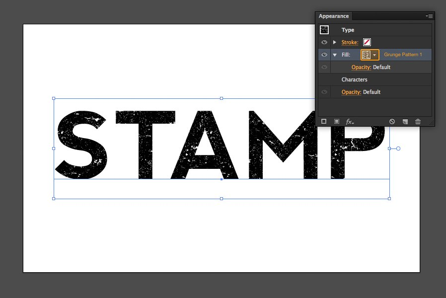 how to create an ink stamp text effect with illustrator cs6 medialoot