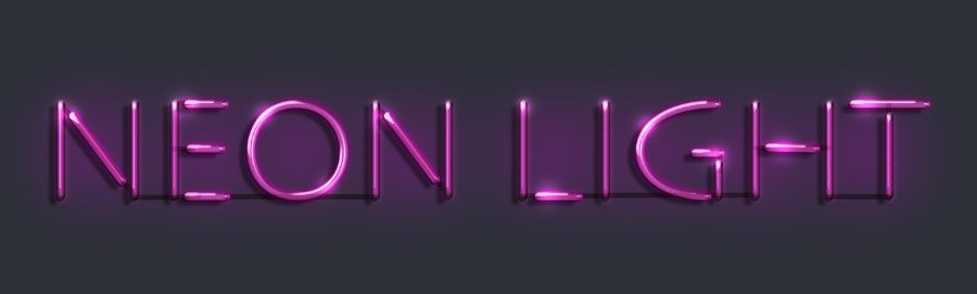 b33bcb9b Create an Easy Neon Light Text Effect in Photoshop — Medialoot