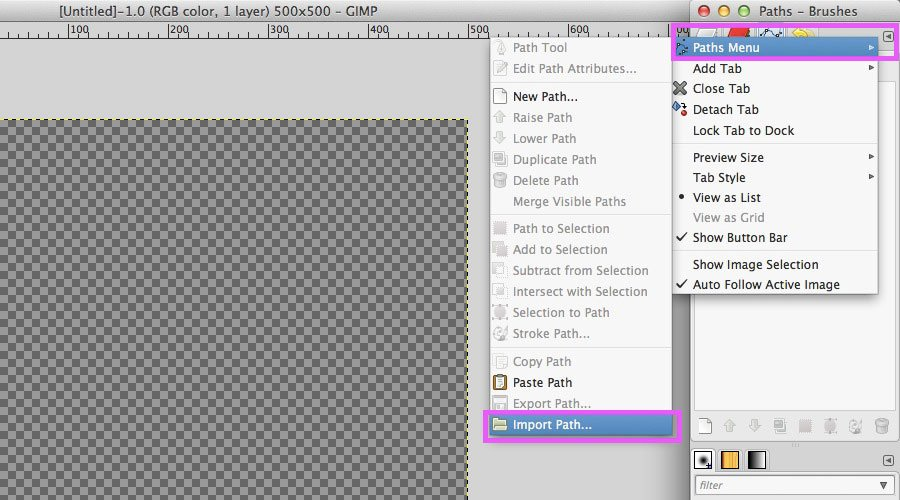 Quick Tip: How to Work With Vector Icons in GIMP — Medialoot