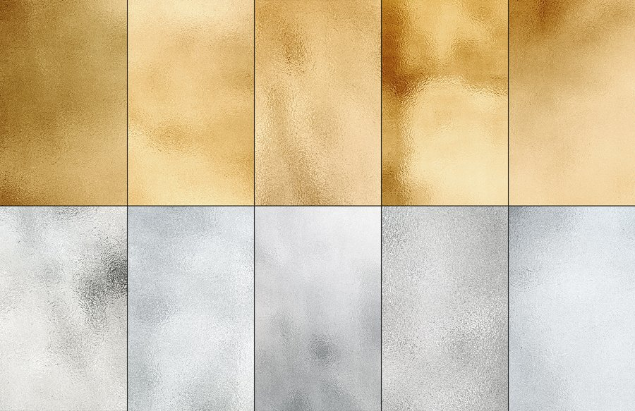 Tutorial: Create a Gold or Silver Foil Texture in Photoshop