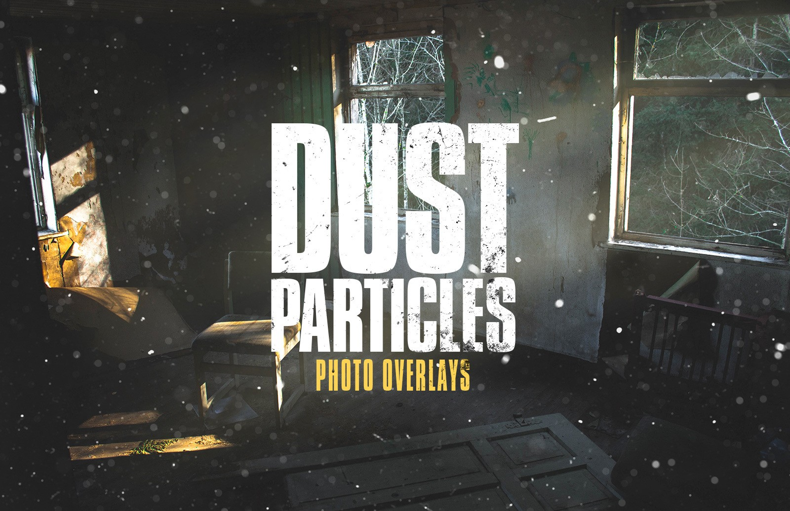 Dust Particles Photo Overlays