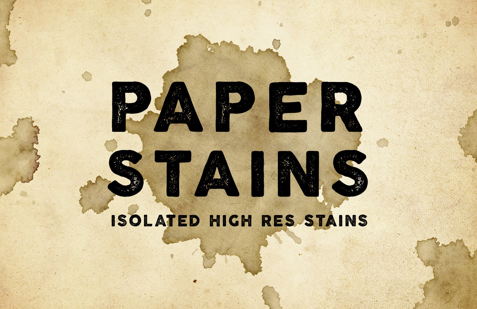 Paper Stains - Textures & Brushes