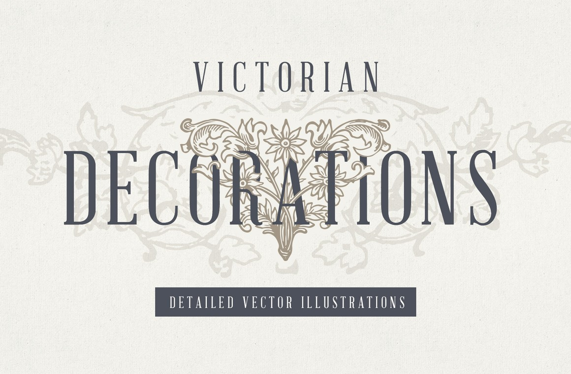 Vintage Victorian Decorations