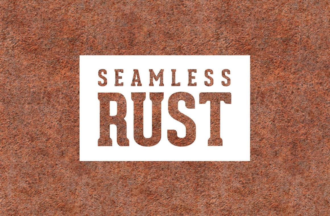 Seamless Rust Metal Textures