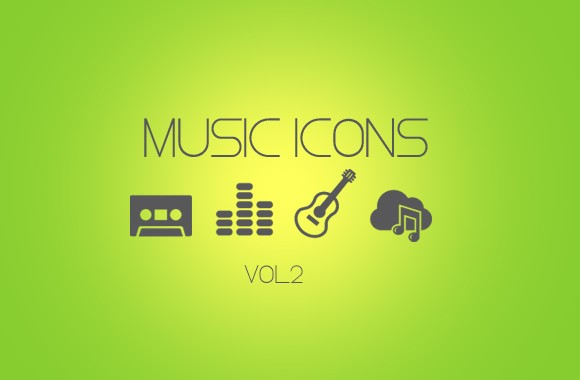 Vector Music Icon Pack Vol 2