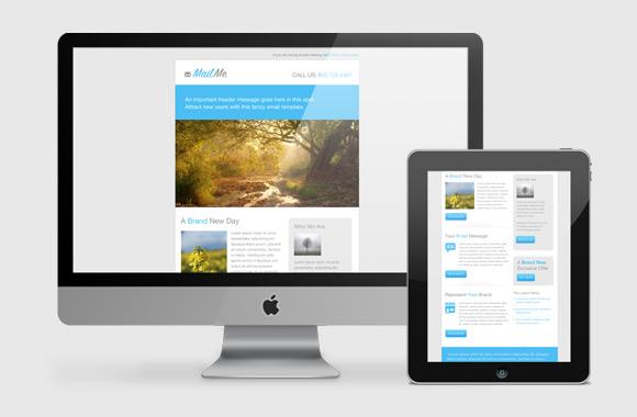 MailMe - Email PSD Design Template