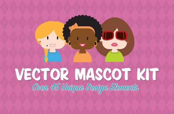 Vector Mascot Creation Kit Vol 2