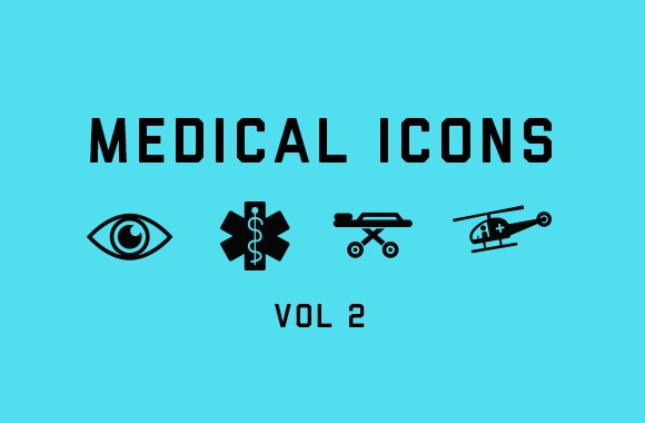 Vector Medical Icons Vol 2