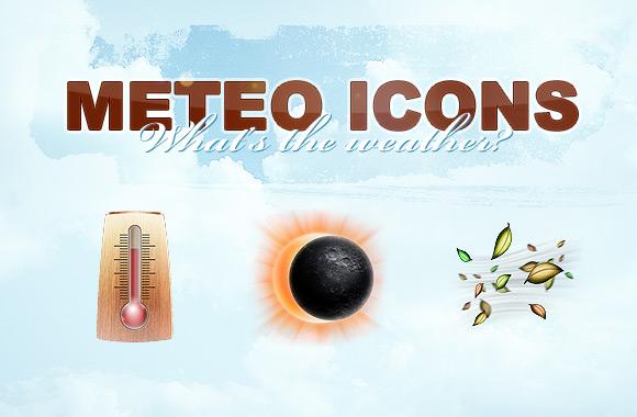 Meteo, 512x512 pixels weather icons