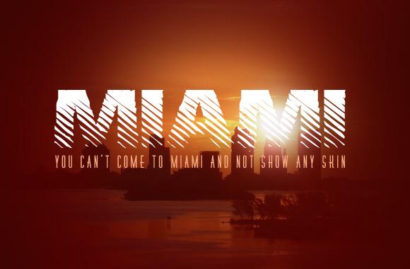 Miami: A Hot New Font Face