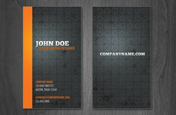Minimal Business Card Template Vol 2