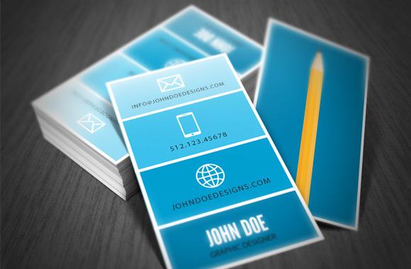 Minimum Designer Business Card Template