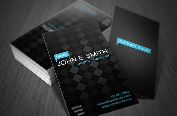 Minimal Style Business Card Template