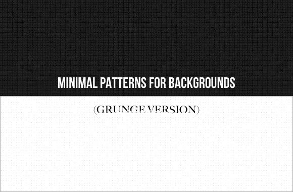 Minimal patterns for backgrounds (Grunge version)