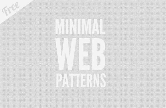 12 Free Minimal Web Patterns
