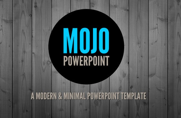 mojo - a clean and modern powerpoint template