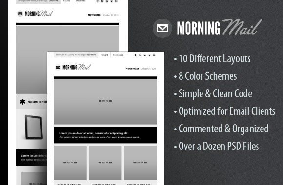 Morning Mail - HTML Email Template Kit
