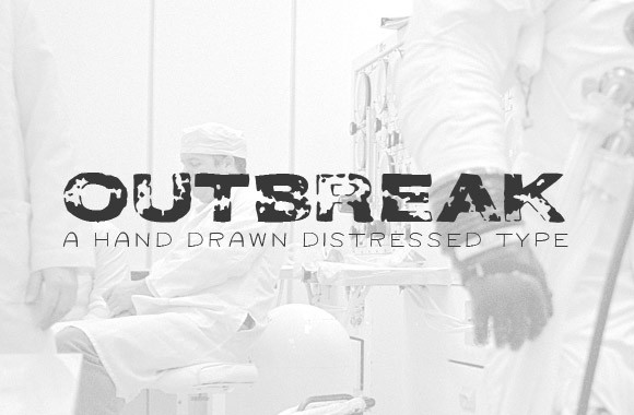 Outbreak - A Free Distressed Type Face