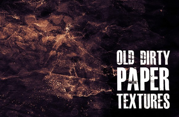Old Dirty Paper Textures