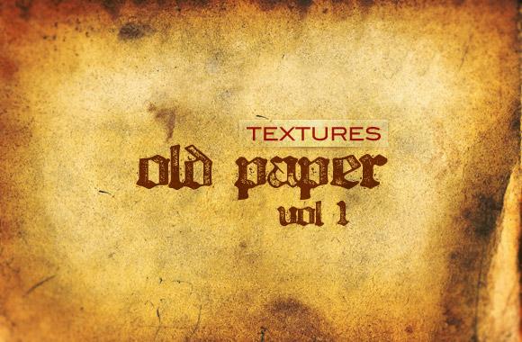 Old Paper Textures Vol1