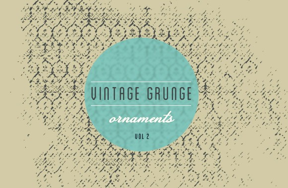 Vintage Grunge Ornaments Vol 2