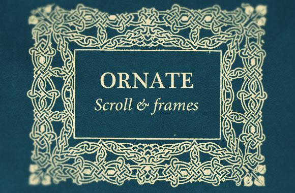 Ornate Scroll and Frames